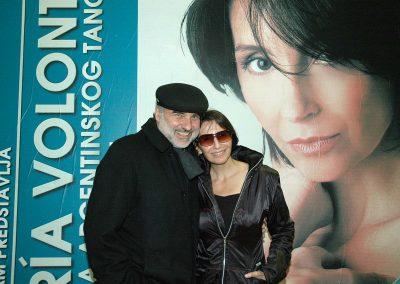 Maria Volonte and Sasa Dragic, Belgrade